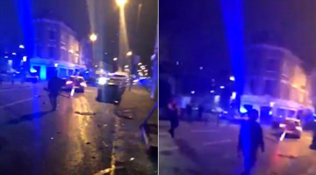 Londra'da bir araçlı saldırı daha!