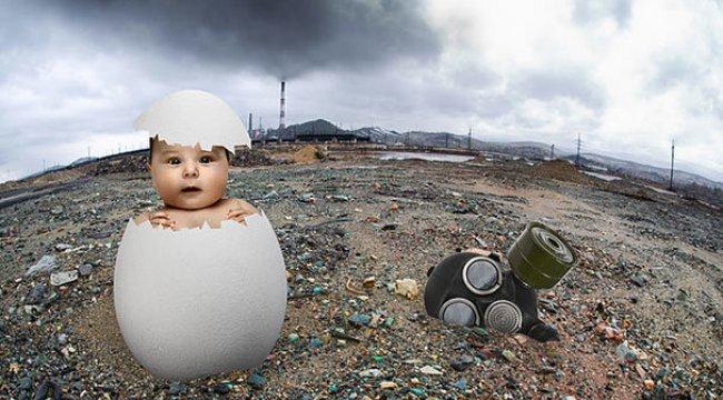 Milyonlarca bebek zehirli hava soluyor