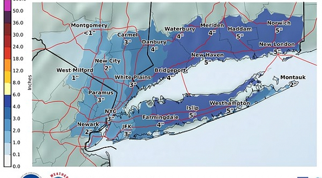 N.J.'s weekend snow forecast just got worse; up to 4 inches possible