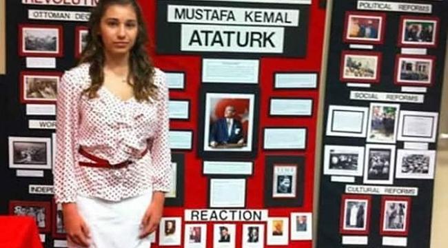National History Day yarışmasında Alara Dinç