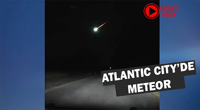 New Jersey'de Meteor Yağmuru