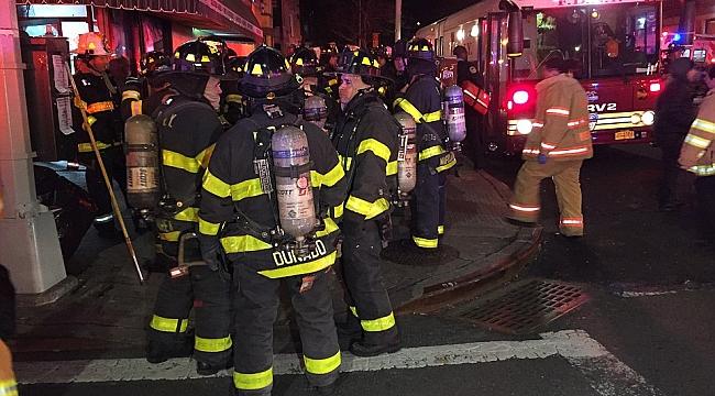 New York'ta Yangın Faciası 12 ölü 15 yaralı