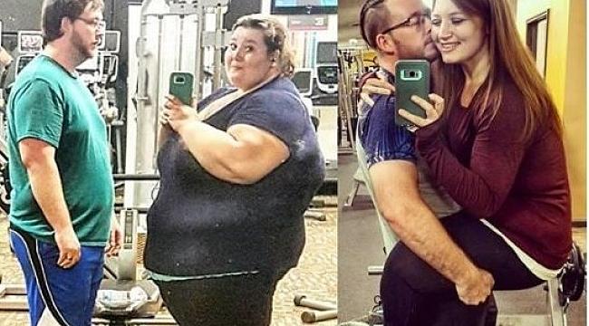 Obez Çift Birlikte 200 Kilo Verdi