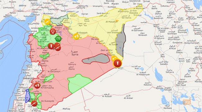 Rusya: Suriye'de DAEŞ kontrolünde yerleşim kalmadı