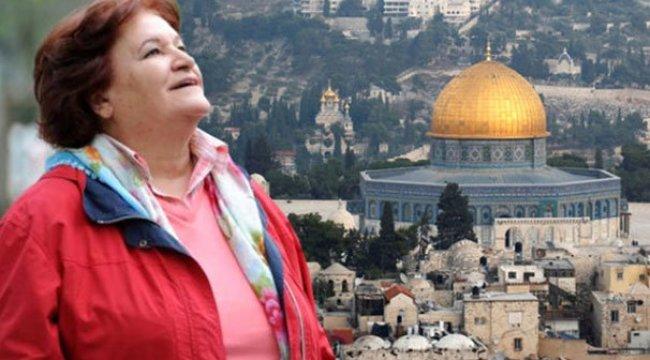 Selda Bağcan'ın Kudüs hayali: Orada...