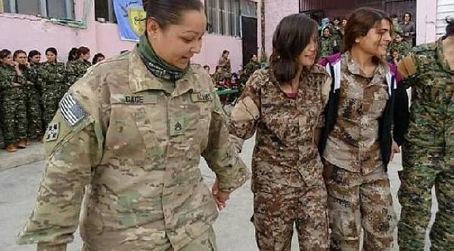 Suriye'de ABD'li askerler YPJ ile halay çekti!