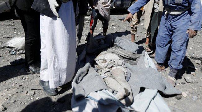 Suudi Arabistan Yemen'i bombaladı! Feci görüntüler...