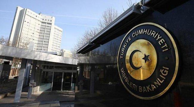 Türkmenlere saldırıya Dışişleri'nden kınama