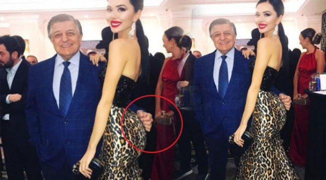 Yılmaz Vural'ın Cansu Taşkın'la fotoğrafı olay oldu