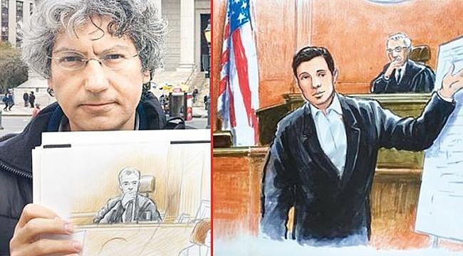 Zarrab Davasının Ressamı: Necdet Yılmaz