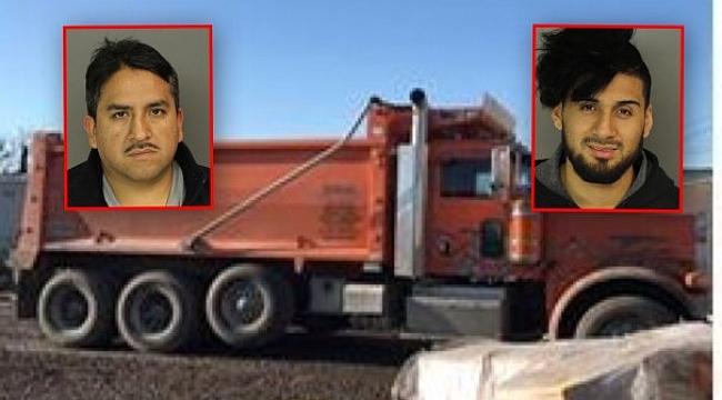 2 Kaçak Kamyon Şoförü Yakalandı