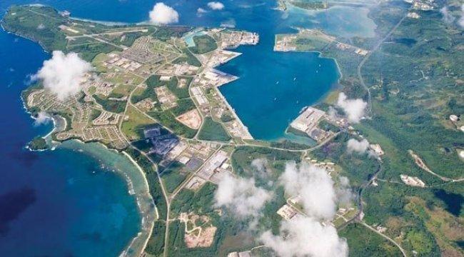 ABD'den Guam adasına yeni yığınak