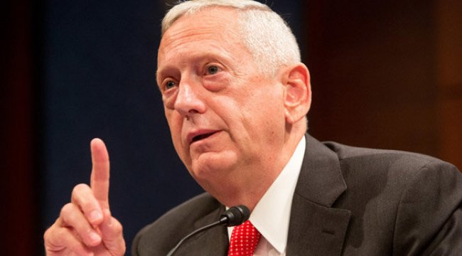 ABD Savunma Bakanı Mattis'ten