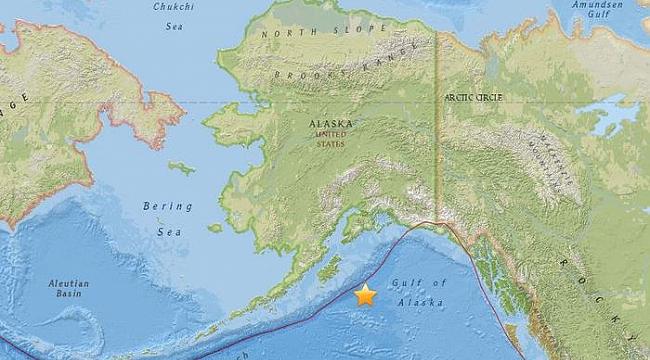 Alaska'da 8.1 Deprem Tsunami Bekleniyor