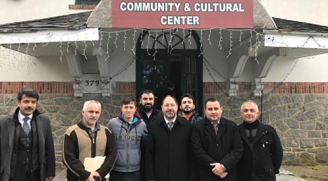 Ali Erbaş'tan New Jersey Murat Camiine Ziyaret