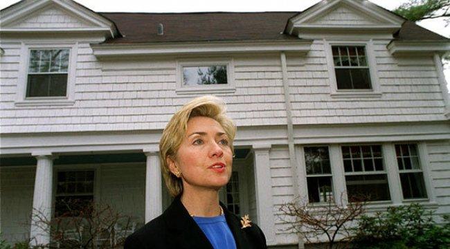 Clintonların evinde yangın!