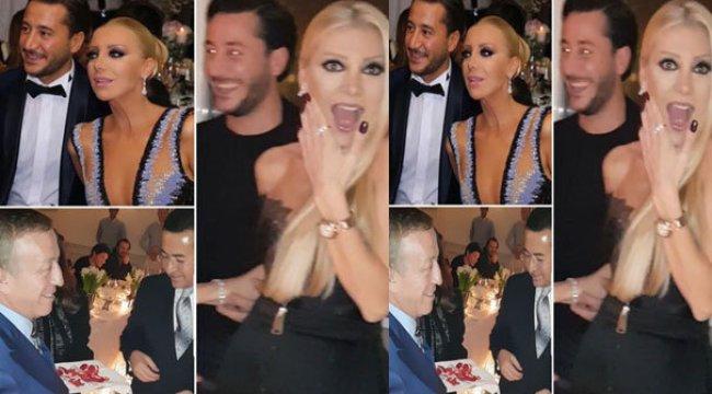 Eski eşiyle nişanlandı! Ali Ağaoğlu yüzüğü taktı!