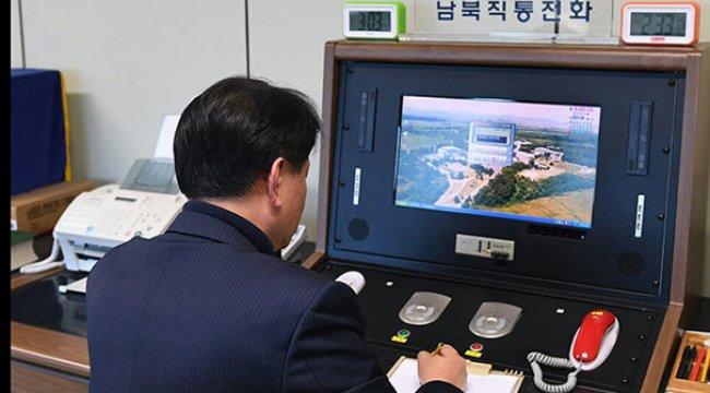 İki Kore iletişim hattından bağlantı kurdu