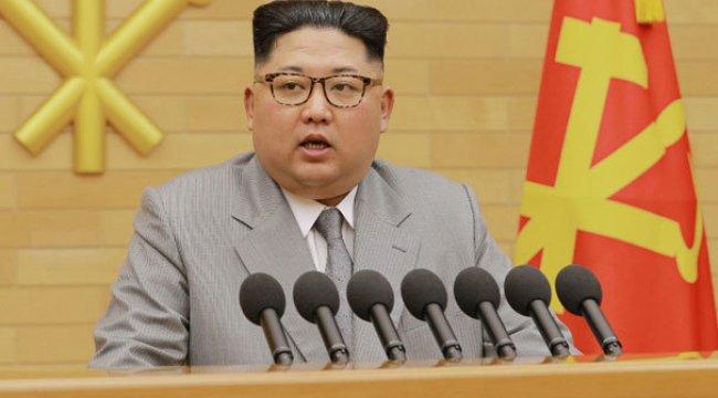 Kuzey Kore liderinden şok tehdit! 'Nükleer düğme masamın üzerinde...'