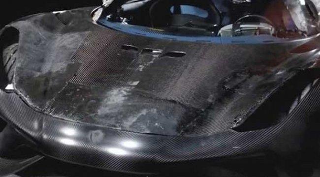 Milyon dolarlık Koenigsegg Regera çarpışma testi