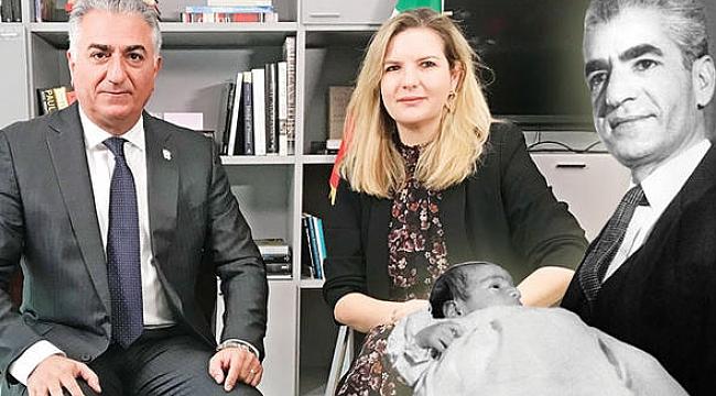 Pehlevi'den ABD'de İran Röportajı