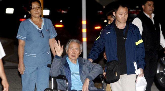 Peru'da affedilen Fujimori serbest kaldı