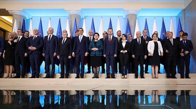Polonya'da kabine değişikliği