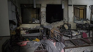 PYD/PKK'lı teröristler Azez'deki hastanelere saldırdı