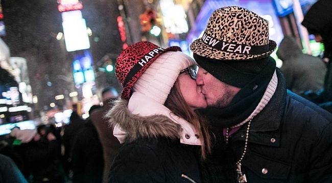 Times Square'de 2018'e Giriş