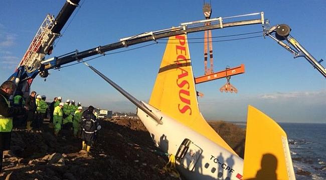 Trabzon'da ki Uçak Kurtarıldı