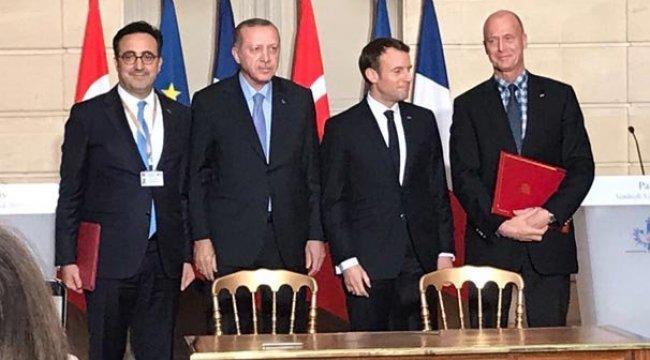 Türkiye ve Fransa arasında dev anlaşma