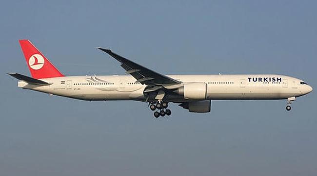 ABD'den Kalkan THY Uçağının Lastiği Patladı