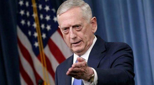 ABD Savunma Bakanı Mattis: