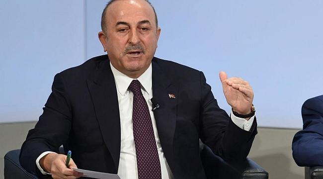 Çavuşoğlu: ABD YPG'ye yardımı kesmeli