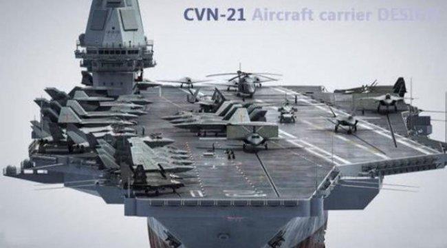 Çin ilk kez kabul etti! Nükleer yakıtlı uçak gemisi...