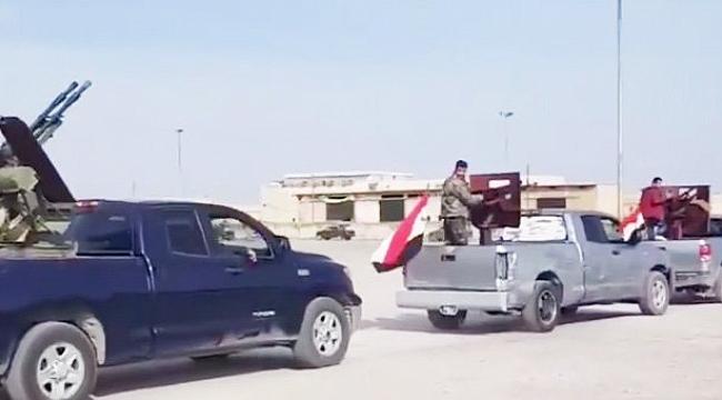 Esad Ordusu Afrin'e Girdi