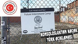 Los Angeles'ta ki Kaçak Türklerle İlgili Açıklama