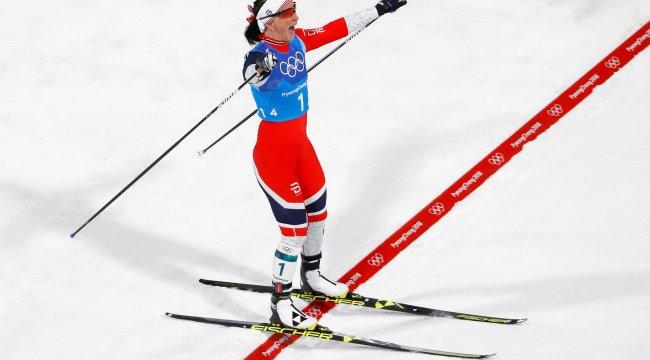 Marit Bjoergen Kış Olimpiyatları'nda en fazla madalya alan isim oldu
