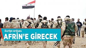 Suriye Ordusu Afrin'e girecek iddiası