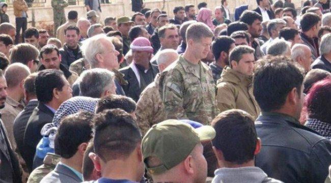 ABD'li komutan, PKK'nın öldürdüğü Alluş'un cenazesinde
