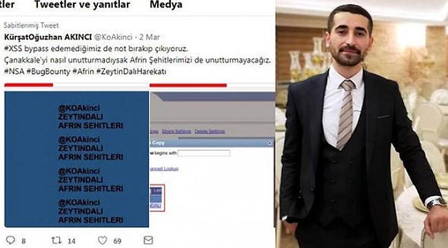 ABD'nin Hackerone Ödülü Türk Hackera