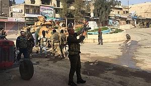Afrin'de Kent Merkezi Ele Geçirildi