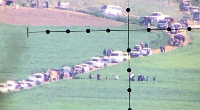 Afrin'den kaçış başladı!