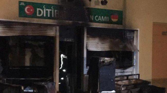 Almanya'da Diyanet Camiine Saldırı
