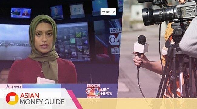 Amerika'nın İlk Başörtülü Haber Spikeri