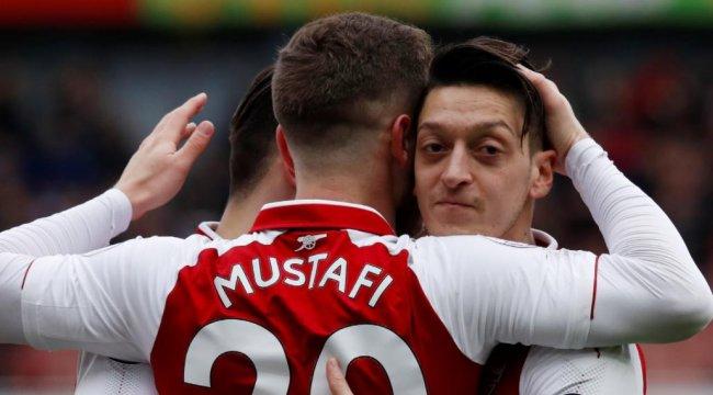 Arsenal'da Mesul Özil Rekoru