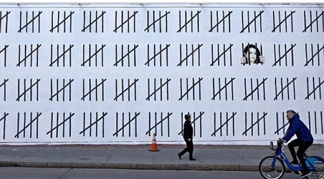 Banksy'den Manhattan'a Türkiye Resmi