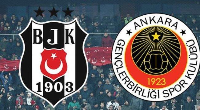 Beşiktaş - Gençlerbirliği maçı ön izlemesi