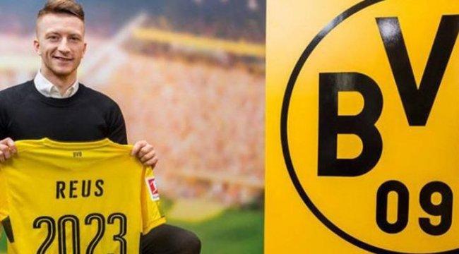 Borussia Dortmund, Reus'un sözleşmesini uzattı