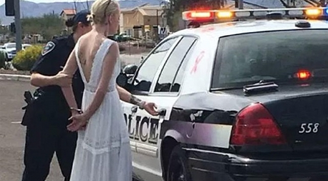 Bride Arrested After Crashing Car on the Way to Her Wedding